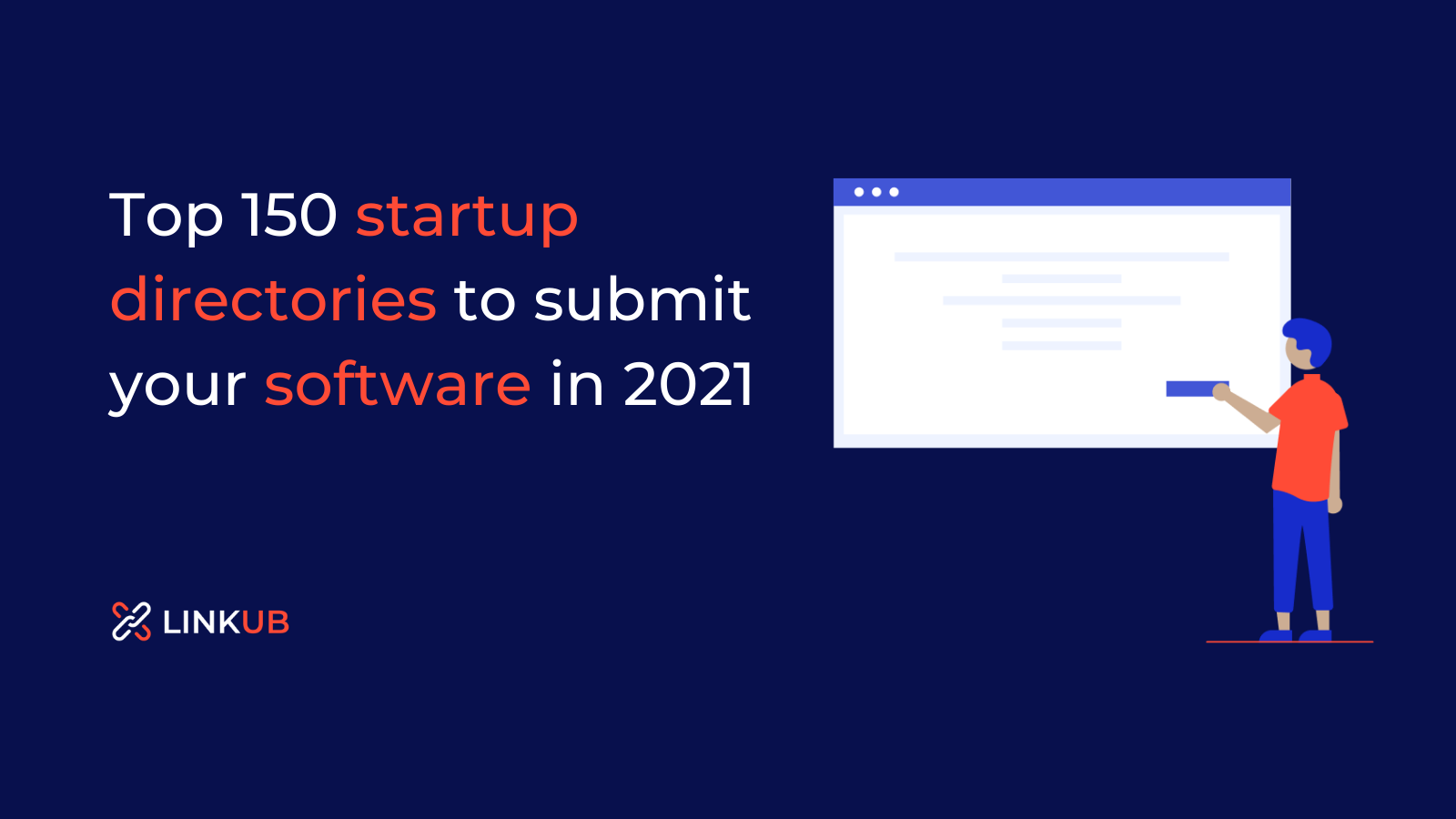 Top 150 startup directories to submit your software in 2021