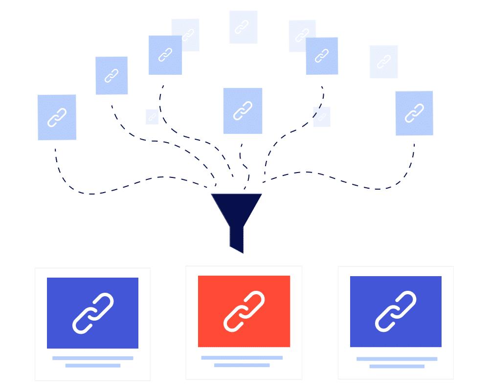 Link building process - Prospecting - Linkub services