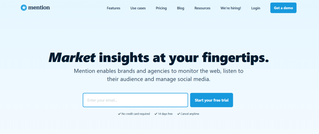 Mention is one of the best brand monitoring tools to convert unlinked mentions Into Links.